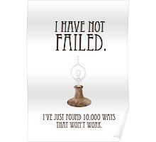 No Fails Poster