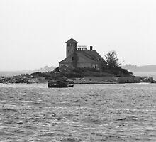 Lighthouse Island - Portland, Maine by Frank Romeo