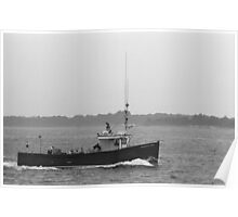 Fishing Boat - Portland, Maine Poster