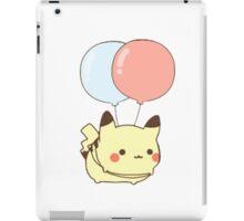 Pika and balloons  iPad Case/Skin