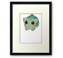 Bulbasaur, Pokemon  Framed Print