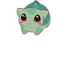 Bulbasaur, Pokemon  Photographic Print