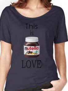 Nutella - This is Love Women's Relaxed Fit T-Shirt