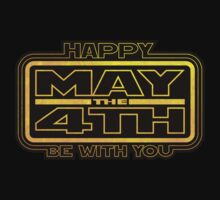 Happy May the 4th! (Yellow) T-Shirt