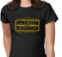 Happy May the 4th! V3 Womens Fitted T-Shirt