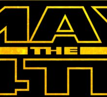 Happy May the 4th! (Yellow) Sticker