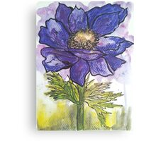 Ink Anemone Canvas Print