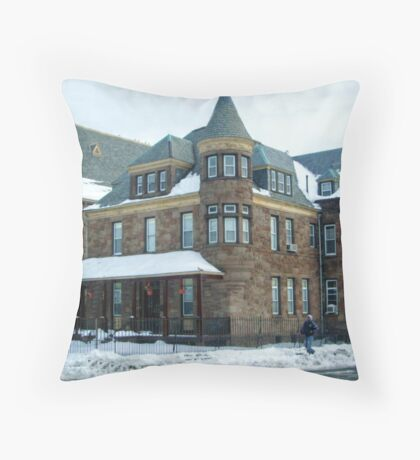 Beautiful Victorian Rectory Throw Pillow