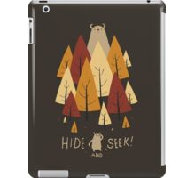 hide and seek iPad Case/Skin