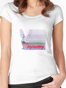 nyoomy goomy Women's Fitted Scoop T-Shirt