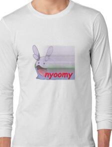 nyoomy goomy Long Sleeve T-Shirt