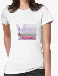 nyoomy goomy Womens Fitted T-Shirt