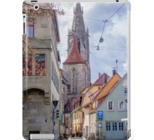 Street Scene, Reutlingen, South Germany iPad Case/Skin