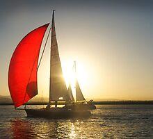 Red Sail by linaji
