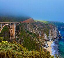 Bixby Bridge, California PCH by ltm3photography