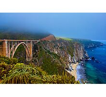 Bixby Bridge, California PCH Photographic Print