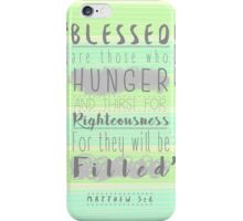 Inspirational Bible Verse iPhone Case/Skin