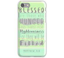 Inspirational Bible Verse iPhone Case/Skin