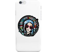Church window-Mother Mary iPhone Case/Skin