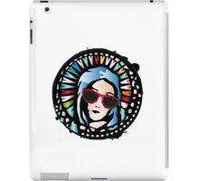 Church window-Mother Mary iPad Case/Skin