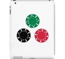 Poker casino iPad Case/Skin