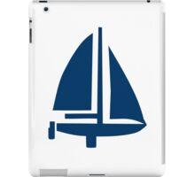 Sailing boat iPad Case/Skin