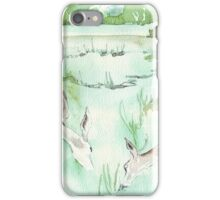 Sketching in the Game Reserve - Springbuck iPhone Case/Skin
