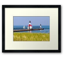 St. Joseph, Michigan Lighthouses Framed Print