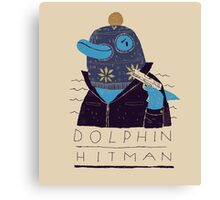 dolphin hitman Canvas Print