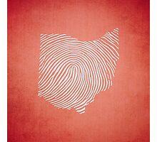 OH-ID Fingerprint Photographic Print