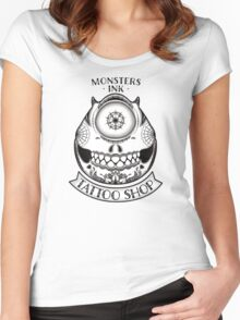 Monsters INK Mike Women's Fitted Scoop T-Shirt