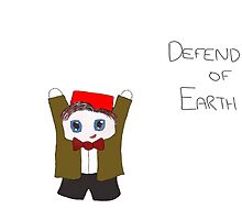 DEFENDER OF EARTH by laurenmayweston