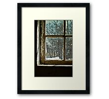 Panes of Art Framed Print