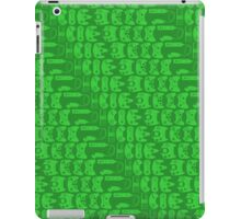 Video Game Controllers - Green iPad Case/Skin