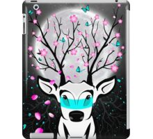 Roots To Grow and Wings To Fly (Cherry Blossom Deer) iPad Case/Skin