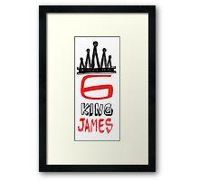 King James 6 Framed Print