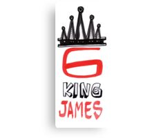 King James 6 Canvas Print