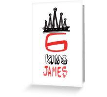 King James 6 Greeting Card