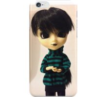 Klara - black hair girl iPhone Case/Skin