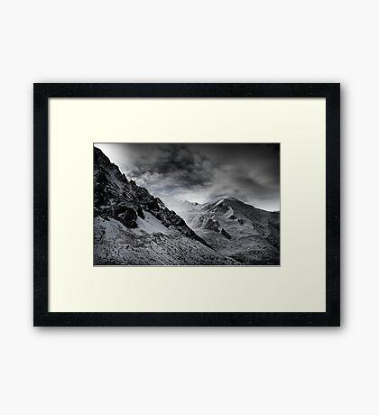 Mont Blanc Framed Print