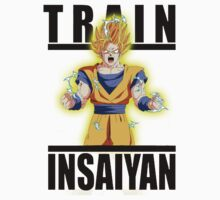 Train Insaiyan Super Saiyan 2 Goku  by BadrHoussni
