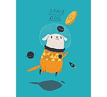 space dog Photographic Print