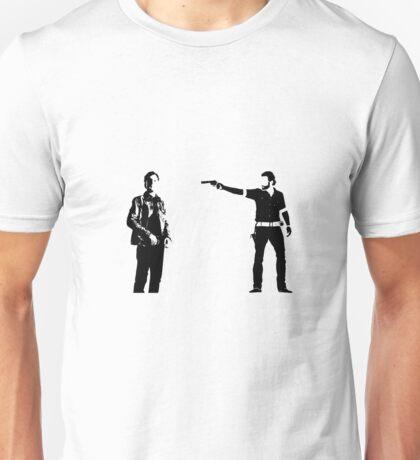 The Walking Dead Rick vs Governor Unisex T-Shirt