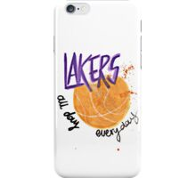 Lakers All Day, Everyday iPhone Case/Skin