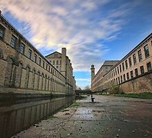 salts mill saltaire  by simon sugden