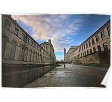 salts mill saltaire  Poster