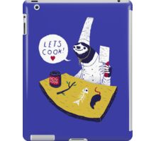 lets cook! iPad Case/Skin