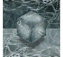 Aluminum Cube Natural Photographic Print