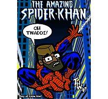 Citizen Khan - Spider-Khan Photographic Print