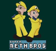 super mario bros / breaking bad mashup meth bros by Alessandro Tamagni
